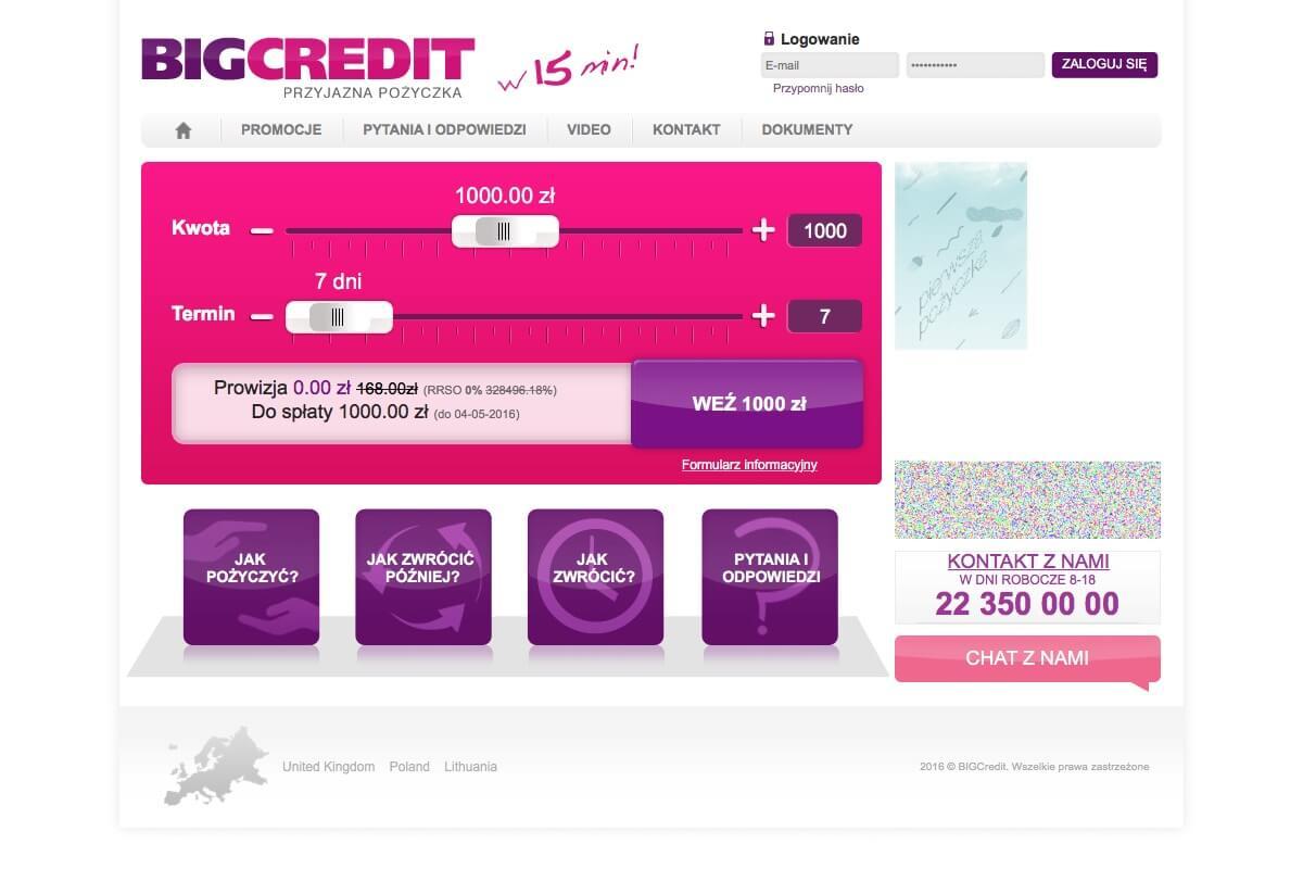 www.bigcredit.pl