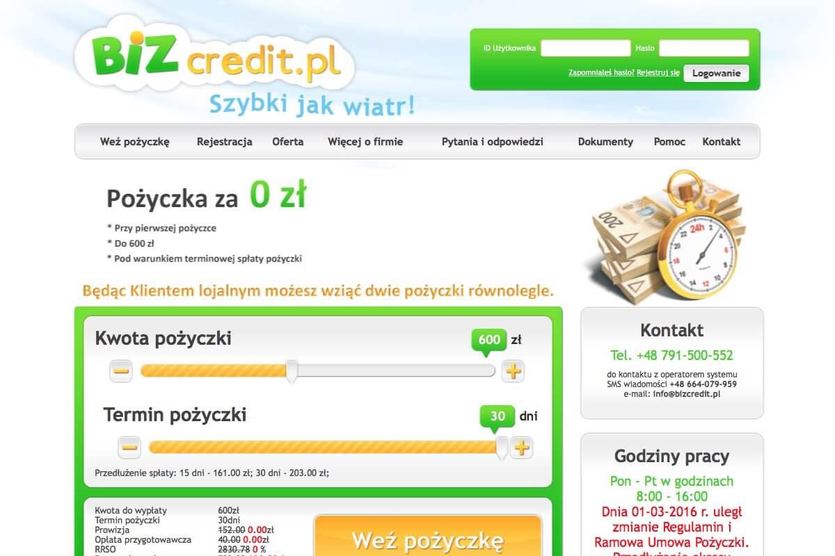 www.bizcredit.pl