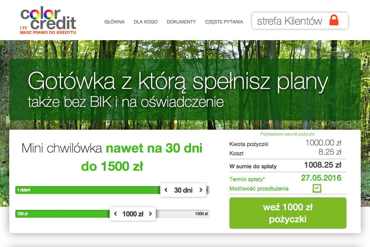 www.colorcredit.pl