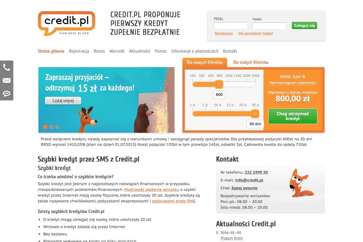 www.credit.pl