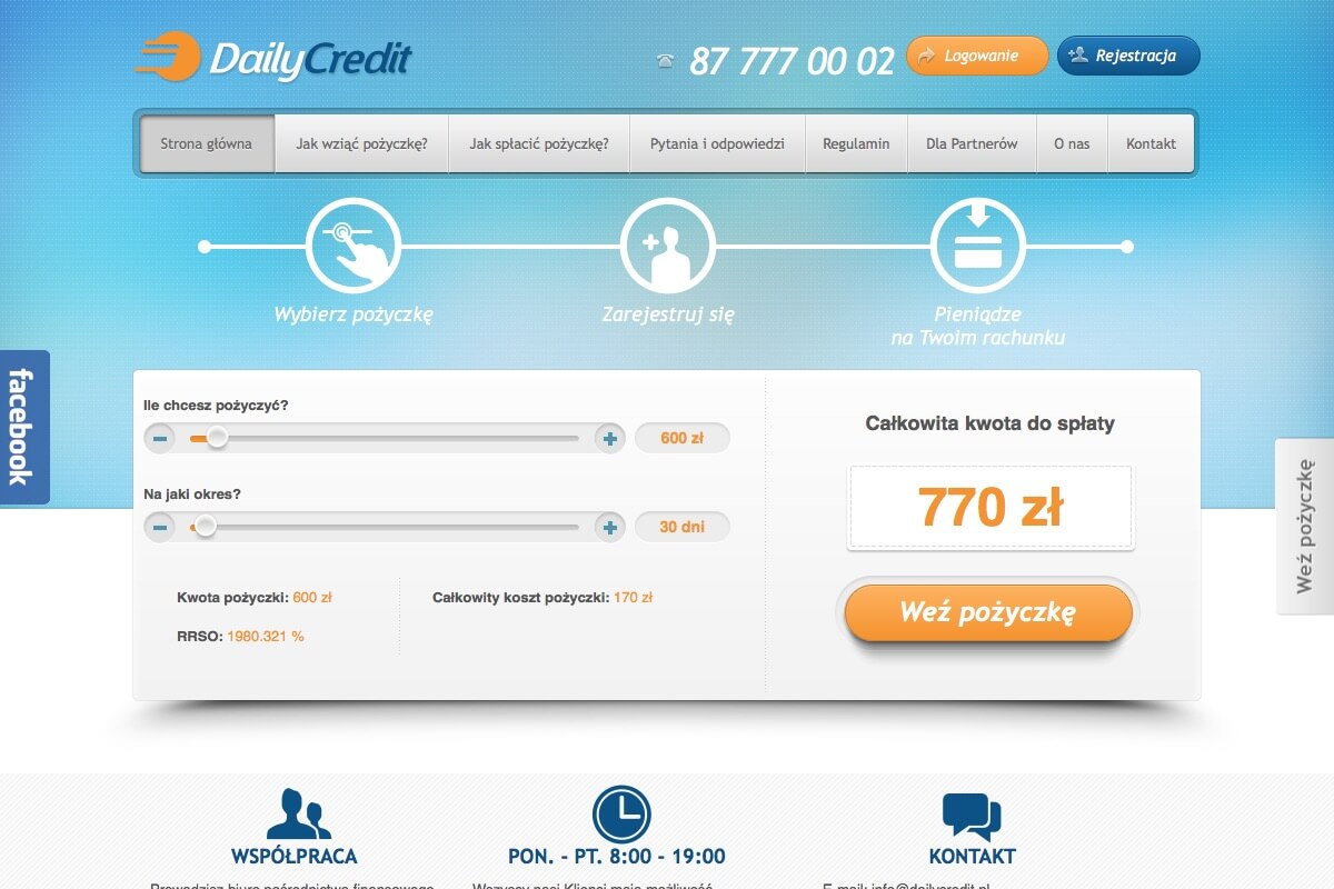 www.dailycredit.pl