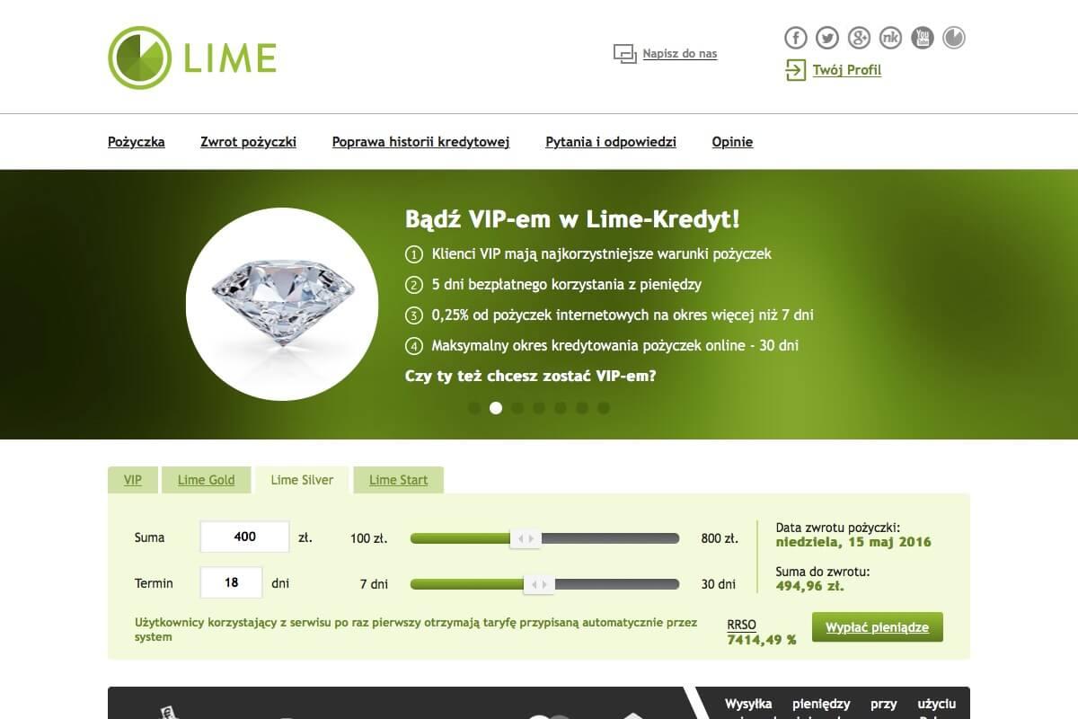 www.lime-kredyt.pl