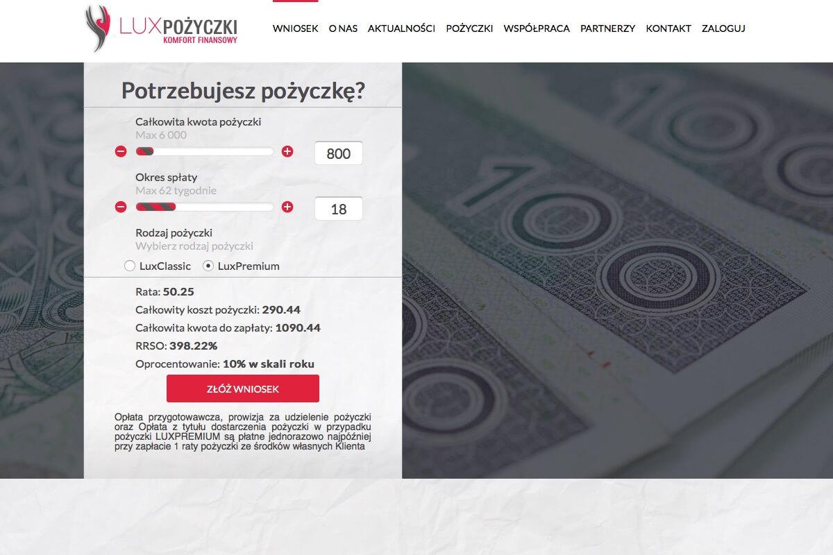 www.luxpozyczki.pl
