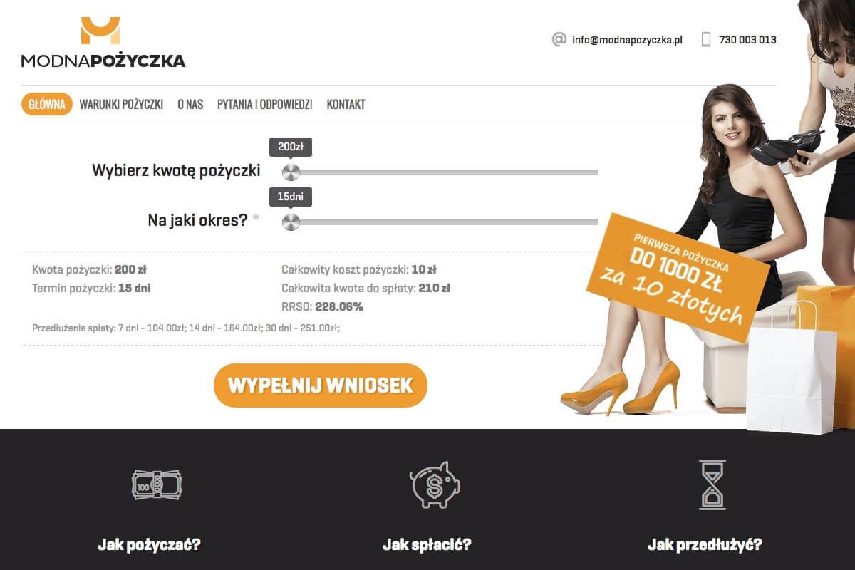 www.modnapozyczka.pl