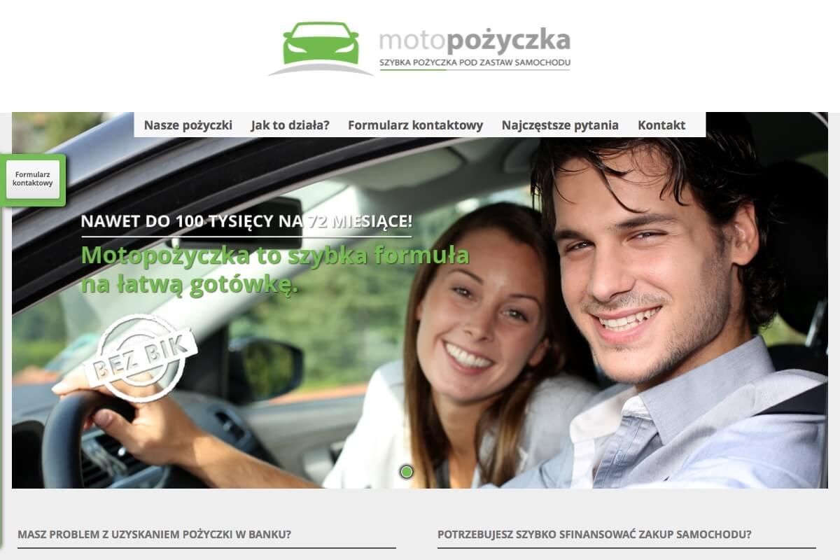 www.motopozyczka.pl