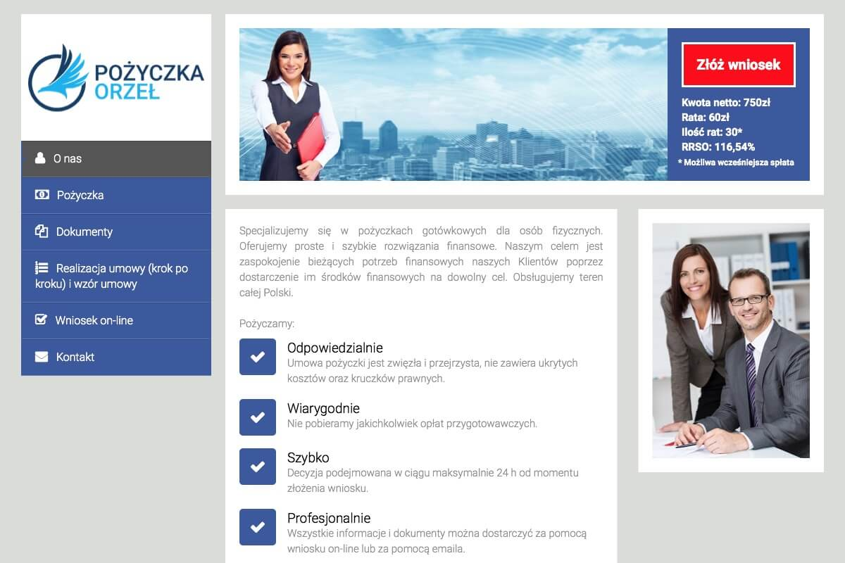 www.pozyczkaorzel.pl