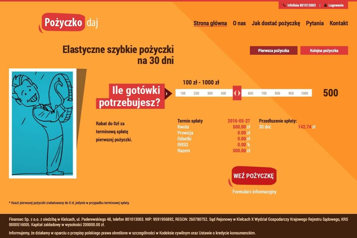 www.pozyczkodaj.pl