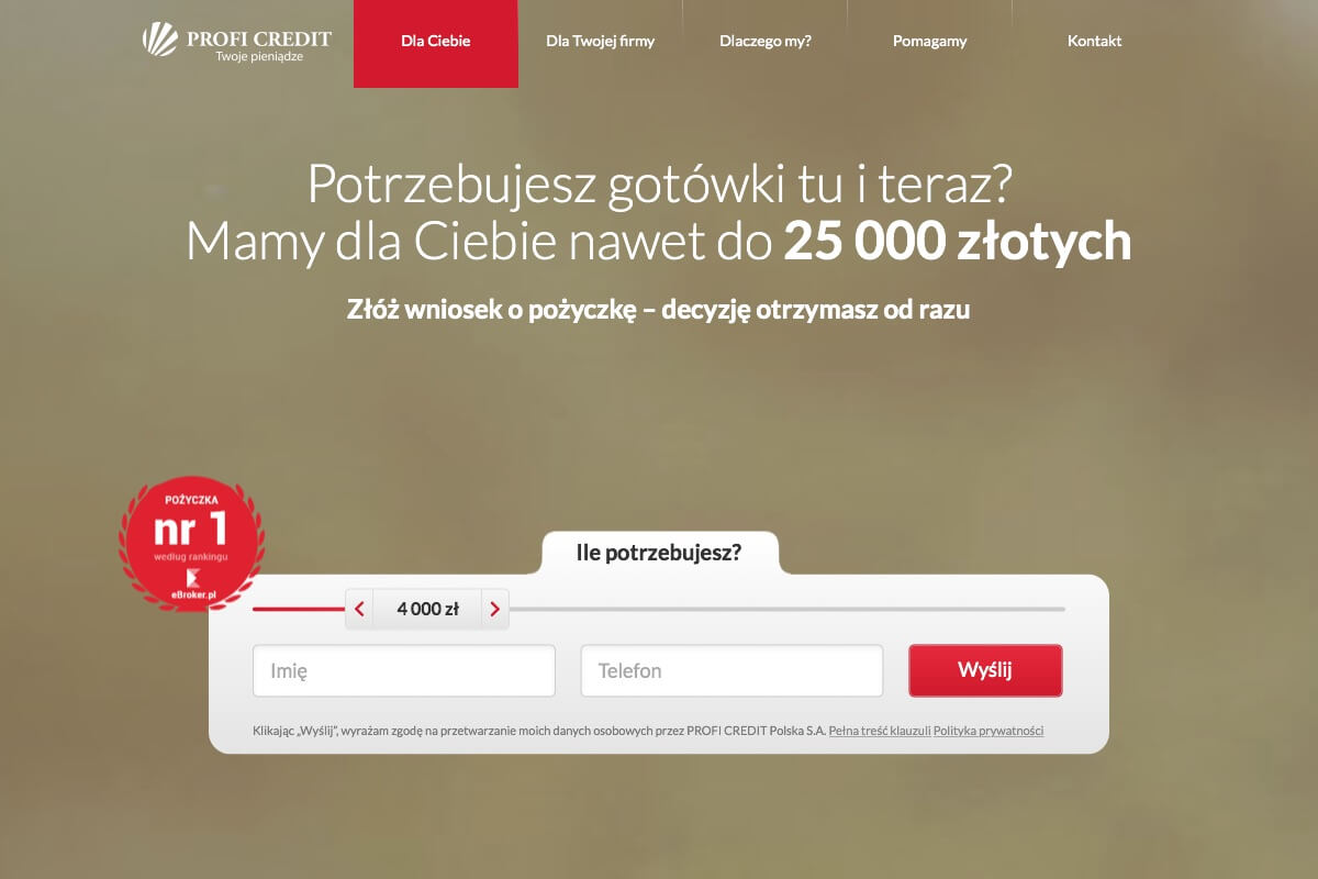 www.proficredit.pl