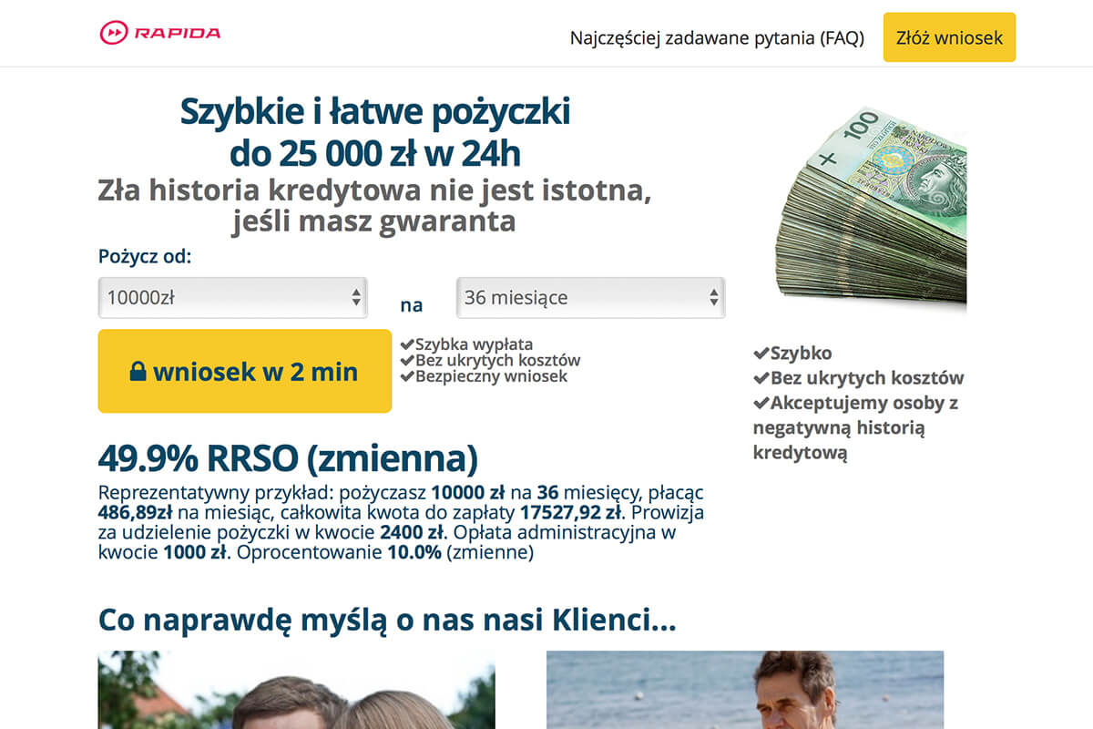 www.rapidamoney.pl